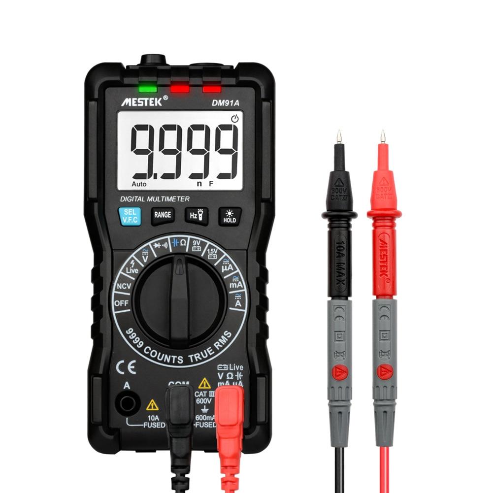 DM91A mini multimeter digital multimeter 9999 counts auto range tester multimetre multi meter multitester цены