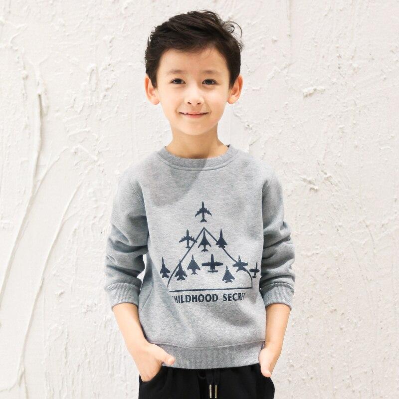 Pioneer Kids Unisex Kids Winter Impreso Fleece Cotton T shirt Niños - Ropa de ninos