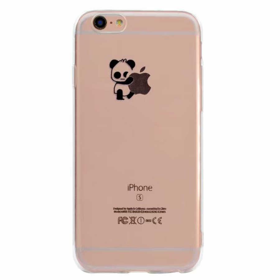 فلامينجو لينة تي بي يو سليم الهاتف حقيبة لهاتف أي فون 5 5s SE 6 6S 7 8 Plus X 10 مضحك الباندا الفيل سيليكون الغطاء الخلفي للقضية شل