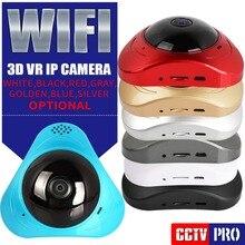 360 градусов Панорама 3D VR Wi-Fi ip-камера 960 P радионяня 1.3MP Главная безопасности CCTV Wi-Fi камера Смарт-два путь аудио P2P