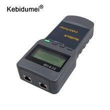 Kebidumei портативный SC8108 ЖК-дисплей беспроводной сетевой тестер метр и LAN телефонный кабель тестер и метр с ЖК-дисплеем RJ45