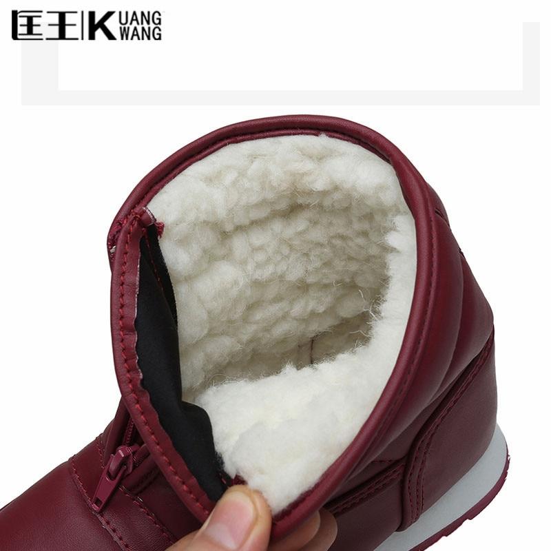 Winter Women Boots Warm Snow Boots 2017 Heels Winter boots women ankle boots women shoes Zapatos Mujer 2017 winter