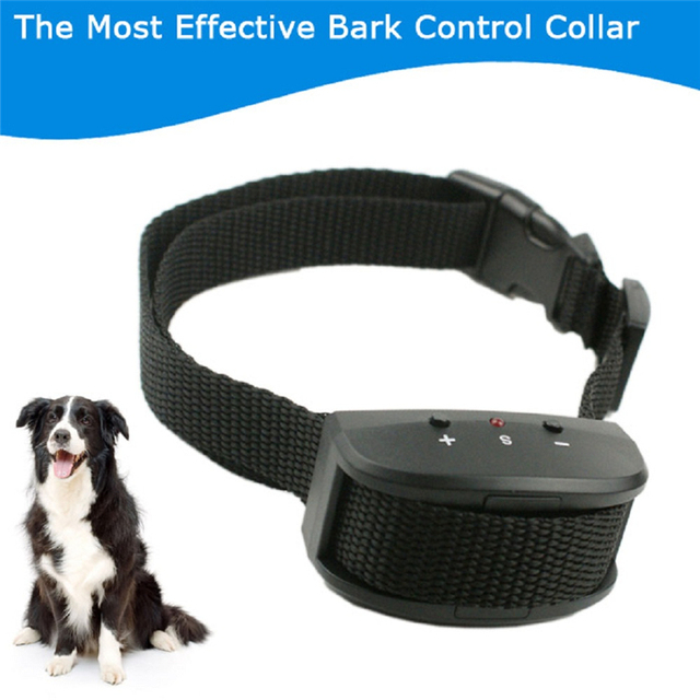e624c35852d Newest type KD663V Dog Anti Barking Bark Stop Training Sound Vibaration  Collar Controller Pet Products Supplies