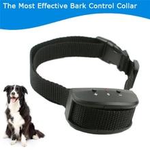 El más nuevo tipo de Collar de Perro Anti Ladridos Ladridos Detener Formación Sonido Vibaration KD663V Controlador de Productos Para Mascotas Suministros