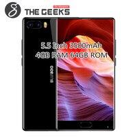 Оригинальный BLUBOO S1 4 Гб Оперативная память 64 Гб Встроенная память MTK Helio P25 2,5 GHz Octa Core 5,5 дюймовый FHD ободок-менее Экран Android 7,0 4G LTE смартфон