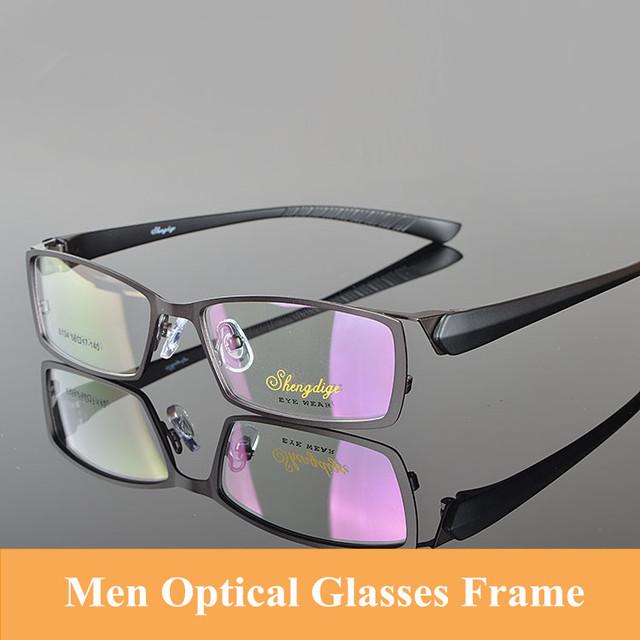 Homens Óculos de Prescrição Quadro Frame Da Liga de 90 TR Templo Óculos de Qualidade para o Sexo Masculino