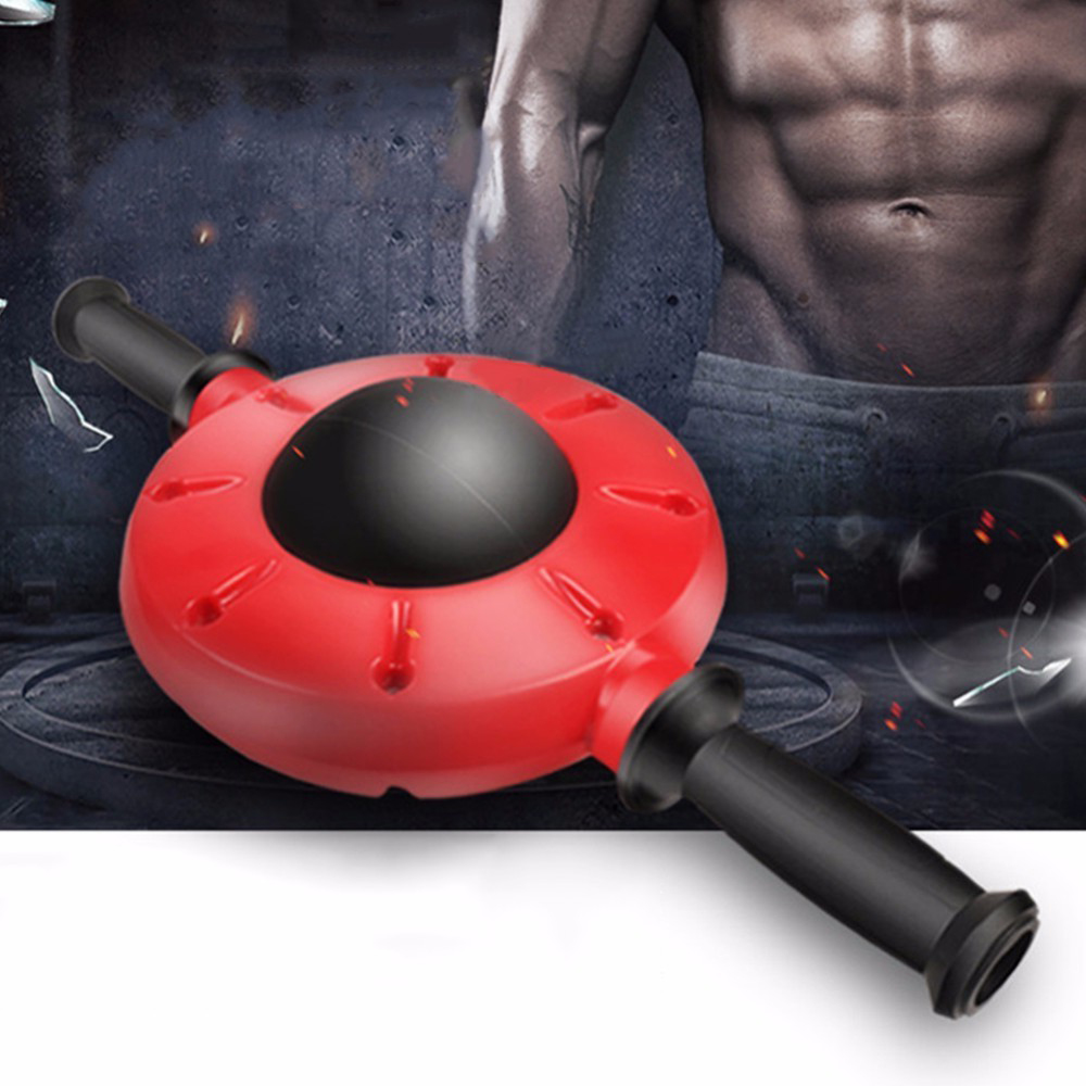360 Degree Abdominal Roller Gym Exercise Machine Home Fitness Equipment Abdominal Training Ab Wheel Belly Muscel Trainer