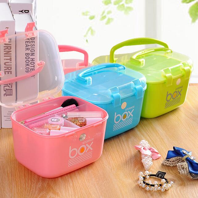 Multi-layer Small Medicine Box Household Medicine Storage Box Baby Medicine Box Family First Aid Box Medical Box