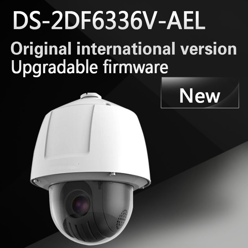 Free shipping DS-2DF6336V-AEL English version 3MP High Frame Rate Smart PTZ Camera POE 36X optical zoom ds 2df8336iv ael english version 3mp high frame rate smart ptz camera 120db true wdr 36x optical zoom speed dome camera