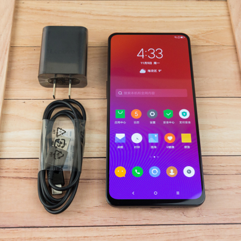 "Lenovo Z5 Pro Snapdragon 710 ZUI 10.0 24.0MP+16.MP AI Dual Camera 6.39""Inch 6GB RAM 128GB ROM Fingerprint under display"