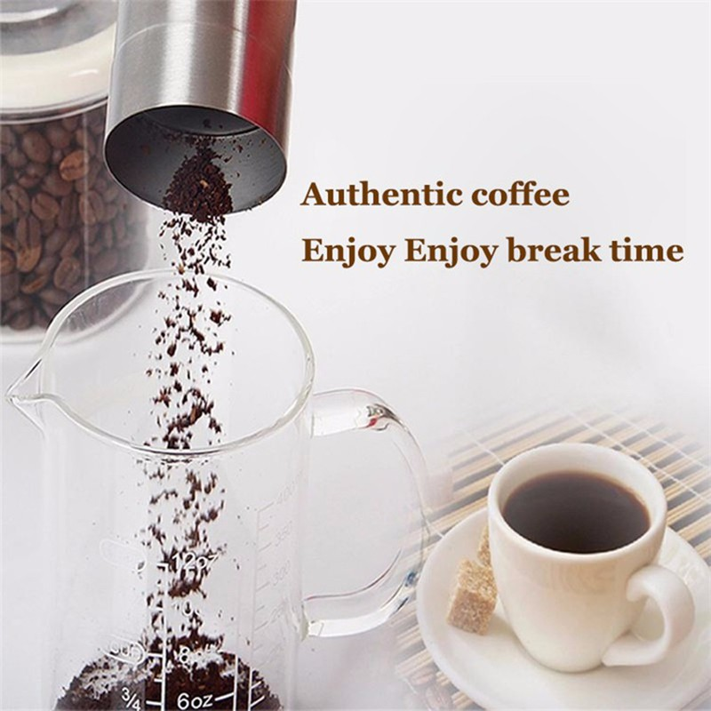 Original Manual Coffee Grinder Stainless Steel Coffee Grinders Coffee Mill Machine Portable Hand Grinders Manual Tool (11)