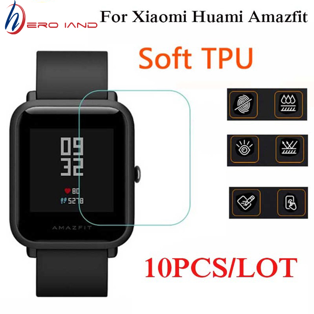 Screen-Protector Wristband Amazfit Bip Hero Xiaomi Ultra-Slim for Huami Youth Edition