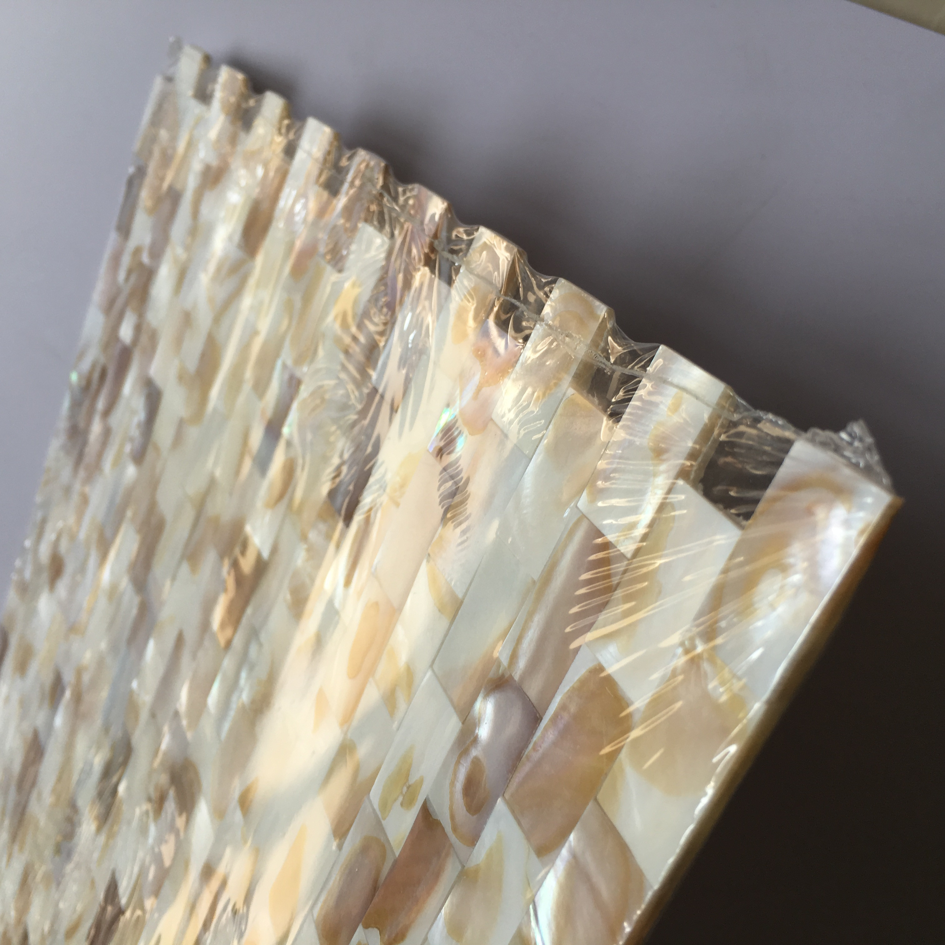 Natural Shell Mother of Pearl Mosaic Tile Kitchen Backsplash Bathroom shower Home wall decor LSMP03 in Wallpapers from Home Improvement
