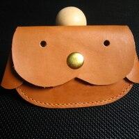 designer dog coin bag case leather craft template die cutting knife mould set hand punch tool set deri el aletleri