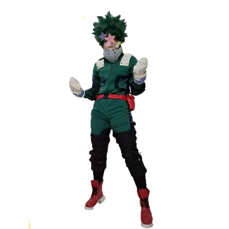 2018 Generatie Twee My Hero Academia Boku no Hero Akademia Izuku Midoriya Cosplay Kostuum