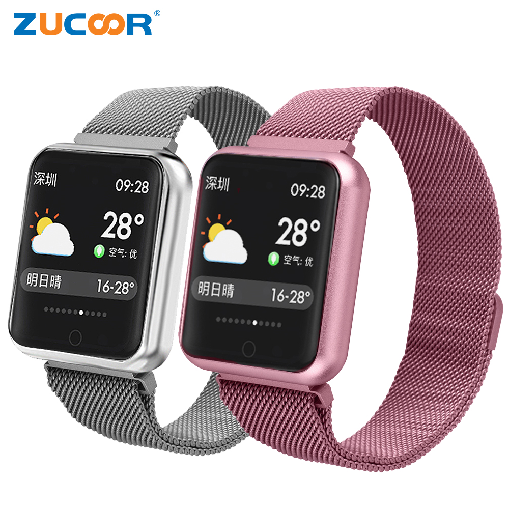 ZUCOOR Smart Bracelet Blood Pressure Band IP68 Watch Pulse Monitor Bracelets ZW46 Fitness Wristband Pedometer For Men Pk Xiomi smart band bracelet health wristband s3 pedometer blood pressure wearable devices pulse monitor electronics bracelets for men