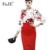 Otoño Nueva Moda de Cintura Alta OL Falda Larga Mujeres de Corea Oficina trabajo Elegante Lápiz Midi Faldas Señoras de La Falda delgada de La Cadera Más Tamaño