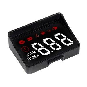 Image 4 - Samochodów HUD wyświetlacz Head Up nowej generacji ostrzeżenie o przekroczeniu prędkości System projektora szyby Auto elektroniczny Alarm napięcia A100S
