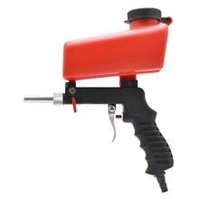 pneumatic sandblasting gun air sand blasting tool anti rust spray sanding device wind sander machine polishing burr remove