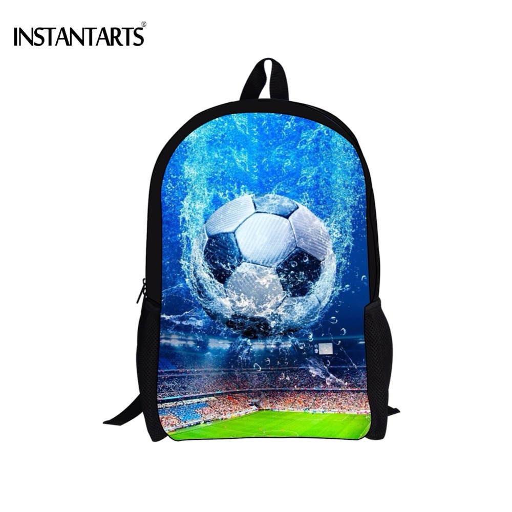 Purposeful Instantarts Cool 3d Foot Ball Print Boy School Bags Casual Primary School Students Bookbags Children Lap Top Backpacks Schoolbag Lights & Lighting