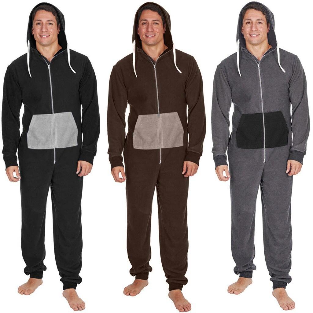 2019 Winter Mannen Plus Size Thuis Pyjama Een Stuk Volwassen Onesie Mens Vrouwen Superman Jumpsuit Nachtkleding Dec12 Exquisite Traditional Embroidery Art