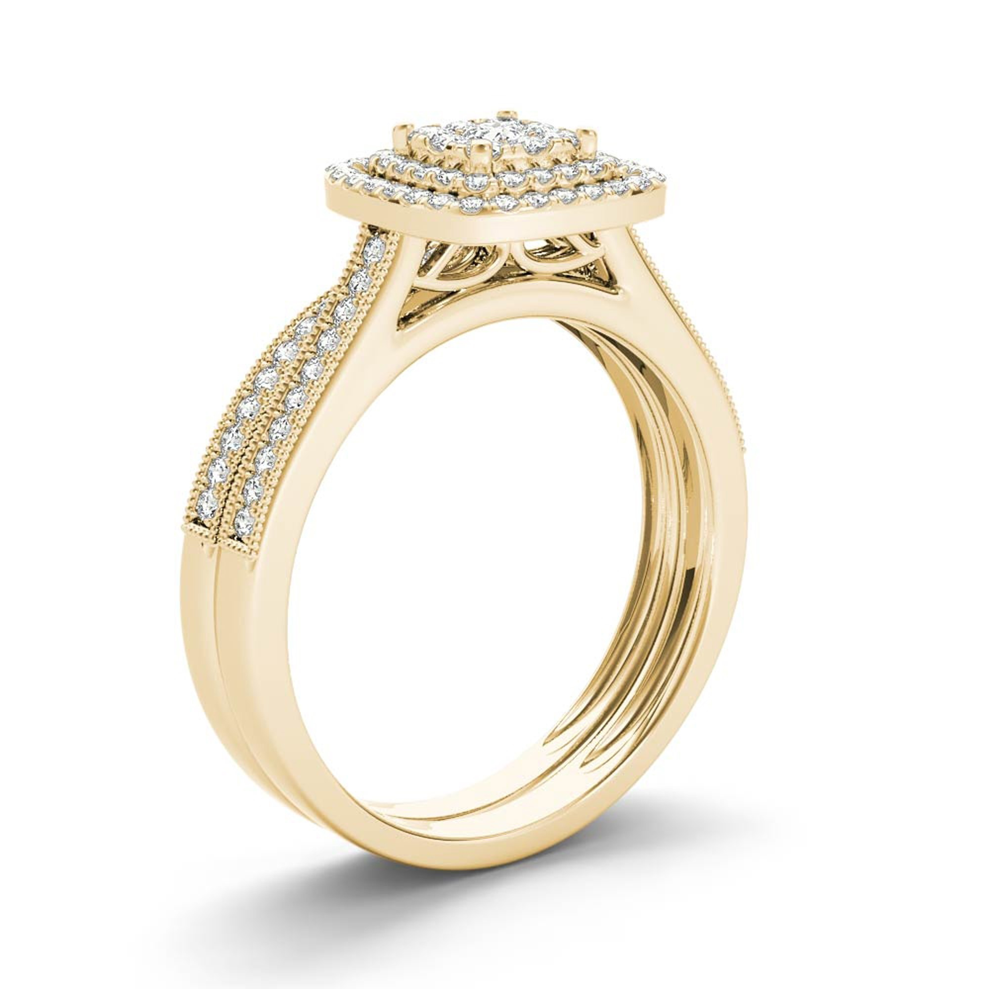 diamond rings wedding stone jewelry stl color models model printable and ring print cgtrader