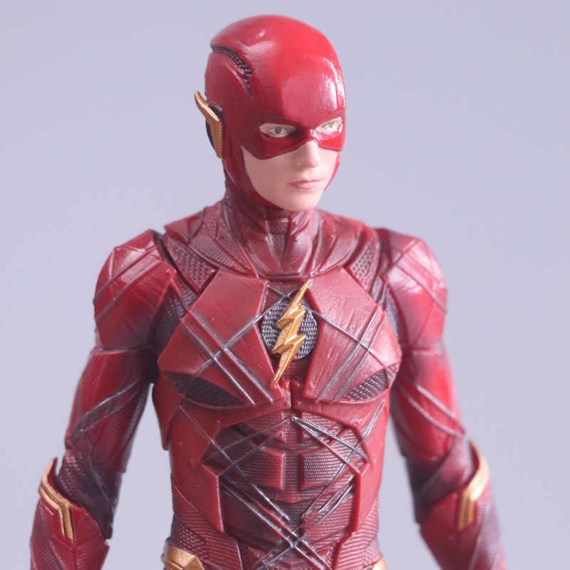 18 cm Justice League The Flash ARTFX Figura de Ação Brinquedo Anime Modelo de Exposição Do Flash Kit Jouet Crianças Aniversário Xmas brinquedos de Presente