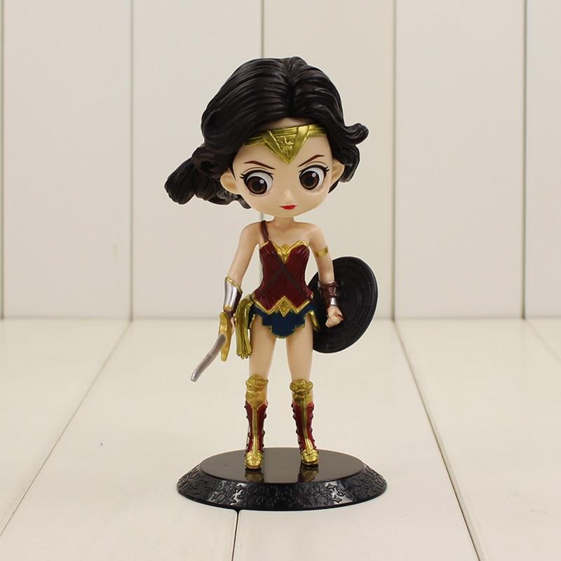 16 cm carino wonder woman figure giocattoli q posket personaggi dei