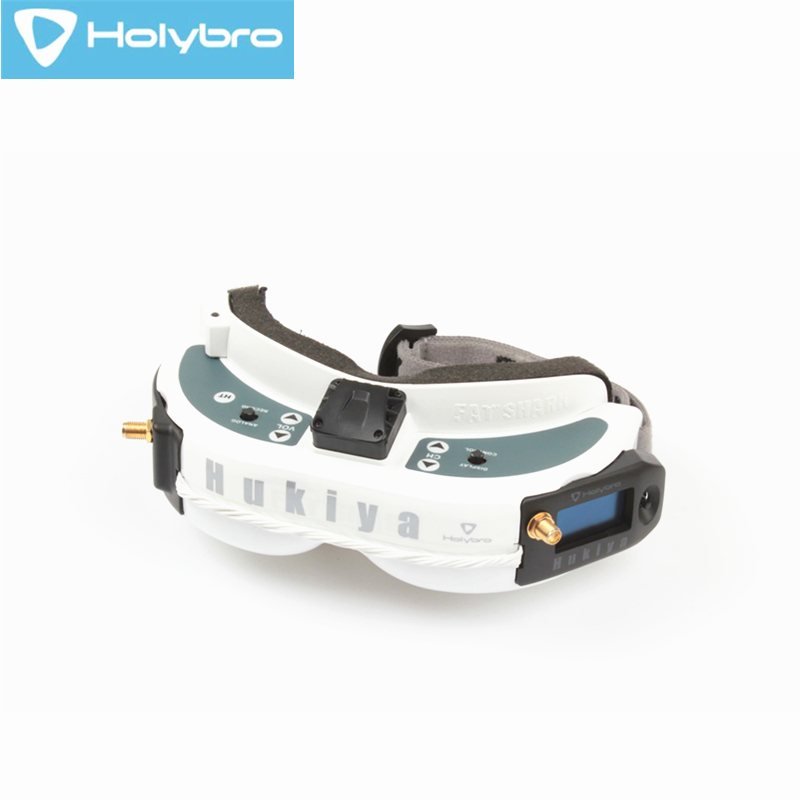 Holybro Hukiya RX5808 5.8G 48CH Pro Diversity Receiver With LED Display For Fatshark Goggles FPV Racer Drone RC Toy