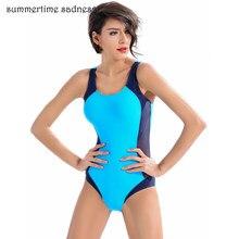 e011d90bf989 2018 nueva tendencia movimiento baño mujeres entrenamiento de la aptitud  profesional verano Padding traje de baño