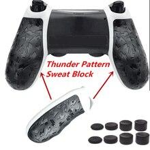 Housse de poignée antidérapante pour manettes de jeu Sony PlayStation 4 Pro, 2 pièces, accessoires pour manettes de PS4 Slim