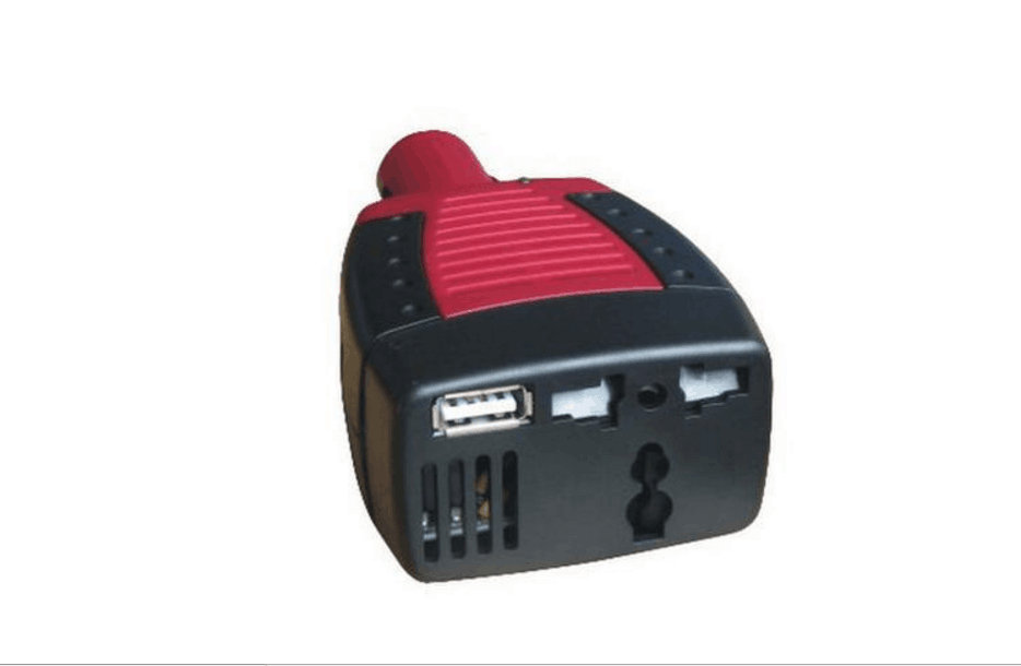 цена на 1pcs DC 12V input voltage and AC 220V output 150W car power inverter with USB port