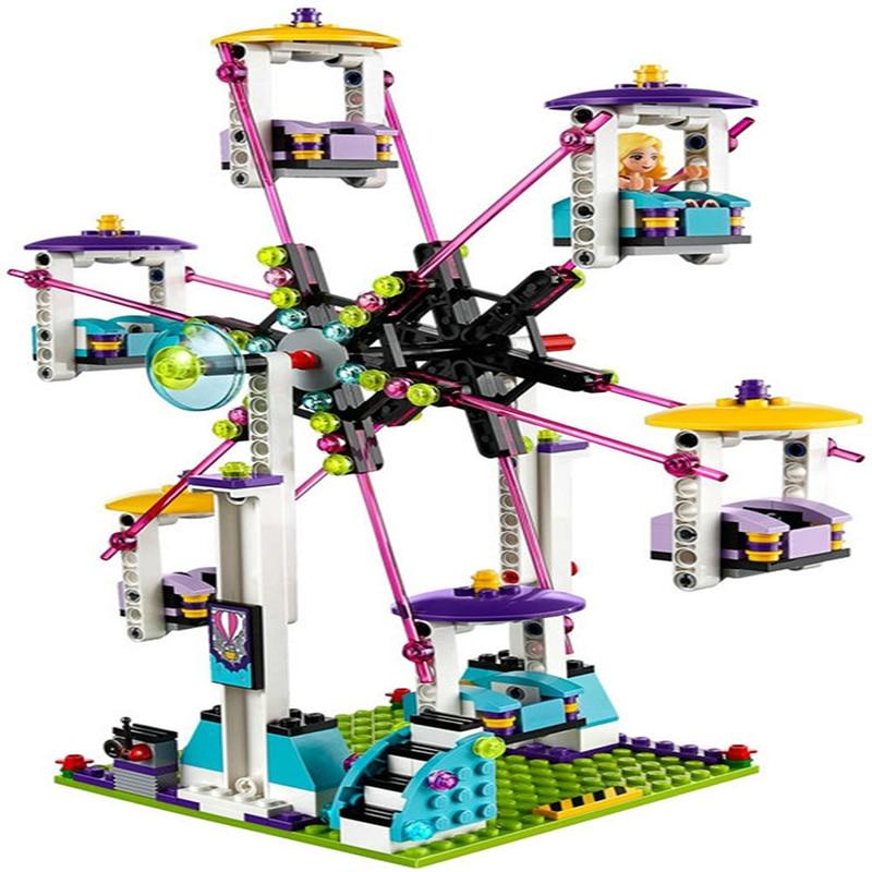 Blocos construção compatível com lego meninas Tipo de Bloco de Plástico : Blocos Autotravantes