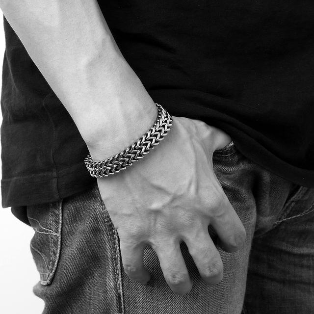 Men Stainless Steel Wrist Band bracelets