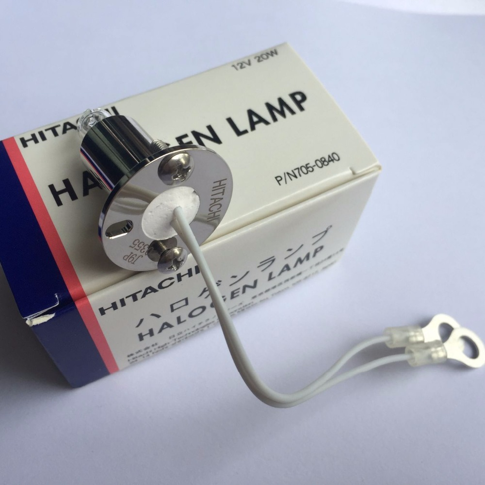Compatible HITACHI 705 0840 12V 20W halogen lamp 7020 7170 7180 7600 biochemical analyzer 12v20w light