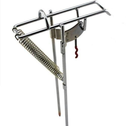 Fishing rod holder stainless steel support pole bracket adjustable new practical adjustable fishing rod pole holder bracket fishing rack tool accessory support