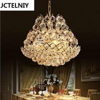 Fashion Crystal Pendant Light Restaurant Lamp Living Room Pendant Light Bedroom Lamps Modern Brief Led Crystal