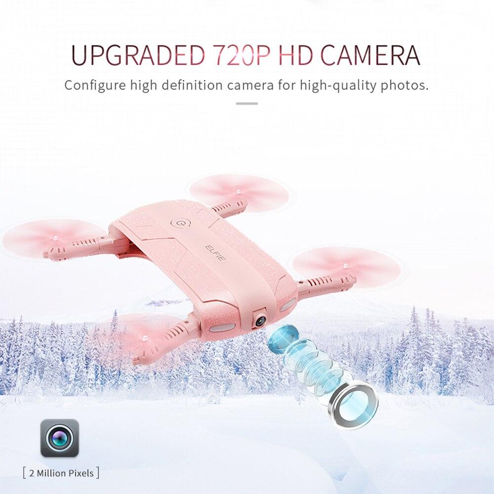 Hot sell Mini fpv RC font b drone b font H37 6 Axis Gyro ELFIE WIFI