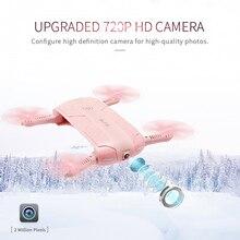 Hot vender Mini fpv zangão RC 6-Axis Gyro ELFIE H37 G-sensor de WI-FI FPV Quadcopter Dobrável RC Zangão Selfie com 2.0MP câmera