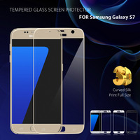 FEMA Film For Samsung S 7 3D Curved Tempered Glass Screen Guard Film For Samsung Galaxy