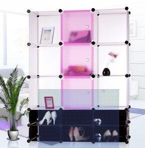 Armoires bricolage pièce magique combinaison armoire en tissu armoire salon maison meubles pour enfants PD1503
