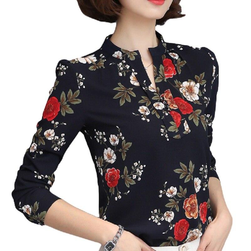 HTB1W4OfQXXXXXbcXFXXq6xXFXXX6 - Tops Chemise Femme Blusas Femininas Blouses Women's Shirt