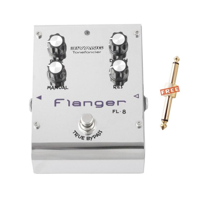 Biyang Tonefancier FL 8 Analog Flanger Electric Guitar Effect Pedal True Bypass Brand New Free Shipping