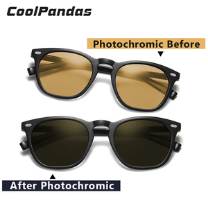 Image 4 - Fashion Intelligent Photochromic Sunglasses Women Polarized Driving Sun glasses Men gafas de sol mujer lunette de soleil femme