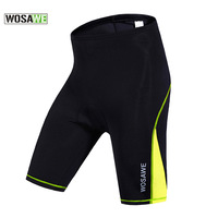 WOSAWE GEL Padded Cycling Shorts Quick Dry Sport Wear Ciclismo Maillot Women Mountain Bike Bicycle Shorts