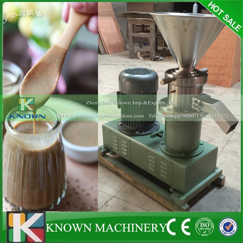 KN-Split-80 high speed rotation stainless steel peanut butter sesame paste chilli sauce colloid mill grinding machine