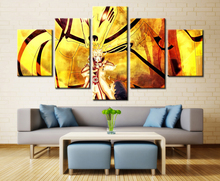 5 Panel Naruto Modular Picture Wall Art Modern Home Decoration Living Room Or Bedroom Canvas Print Painting