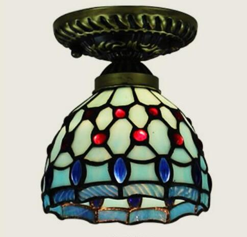 light glass ceiling lamps Creative foyer corridor light ceiling lights aislepastoral porch Absorb lights DF122