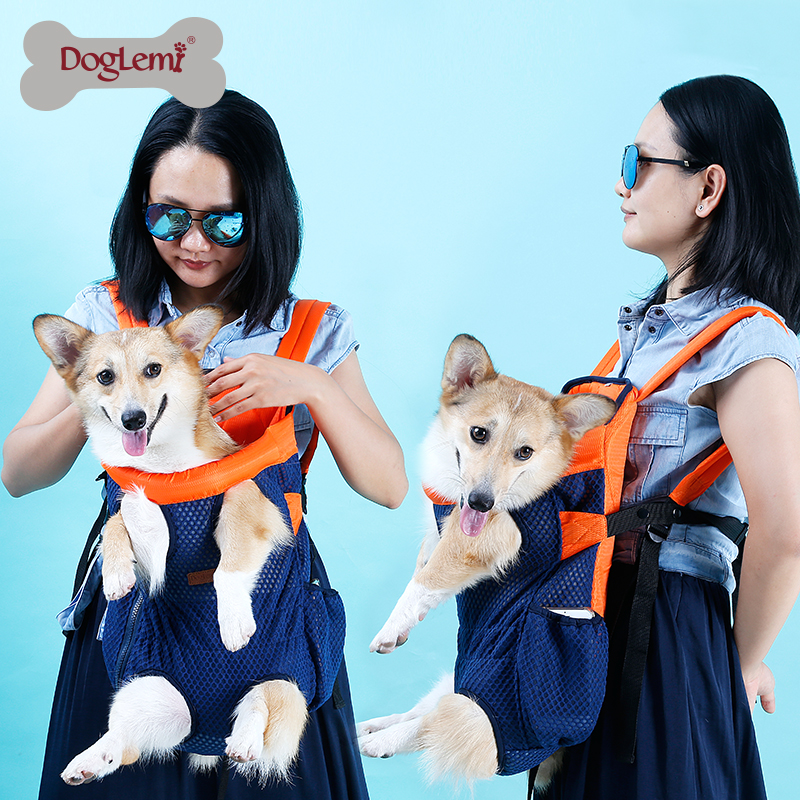 Pet dog carrying backpack travel Shoulder large Bags carrier Front Chest Holder for puppy Chihuahua Pet Dogs Cat accessories #FS 2