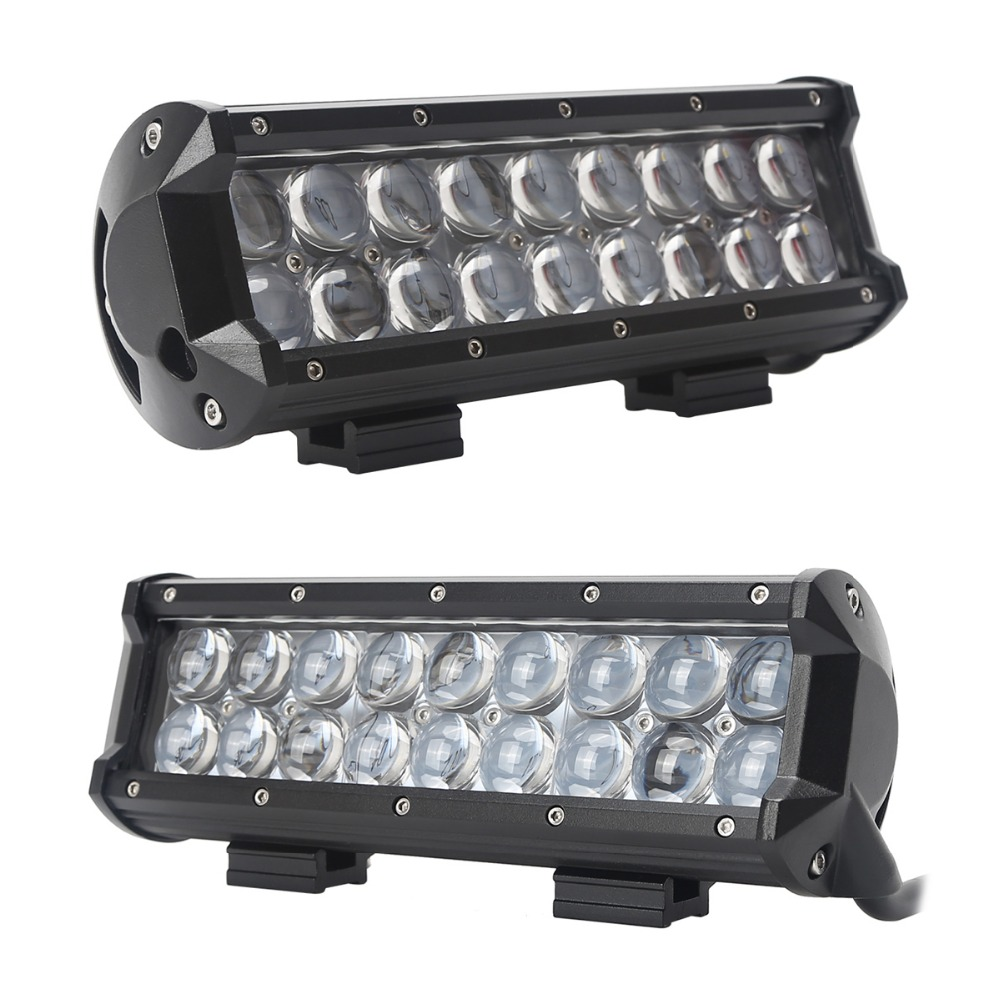LED Work Light Bar Combo 9inch 54W CREE Offroad 4WD Truck SUV Jeep Lamp